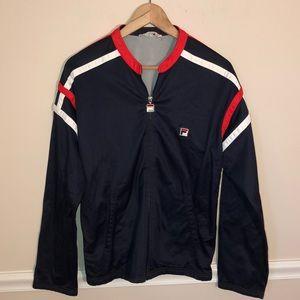 Vintage Fila Zip Up Track Sweatshirt Jacket 40